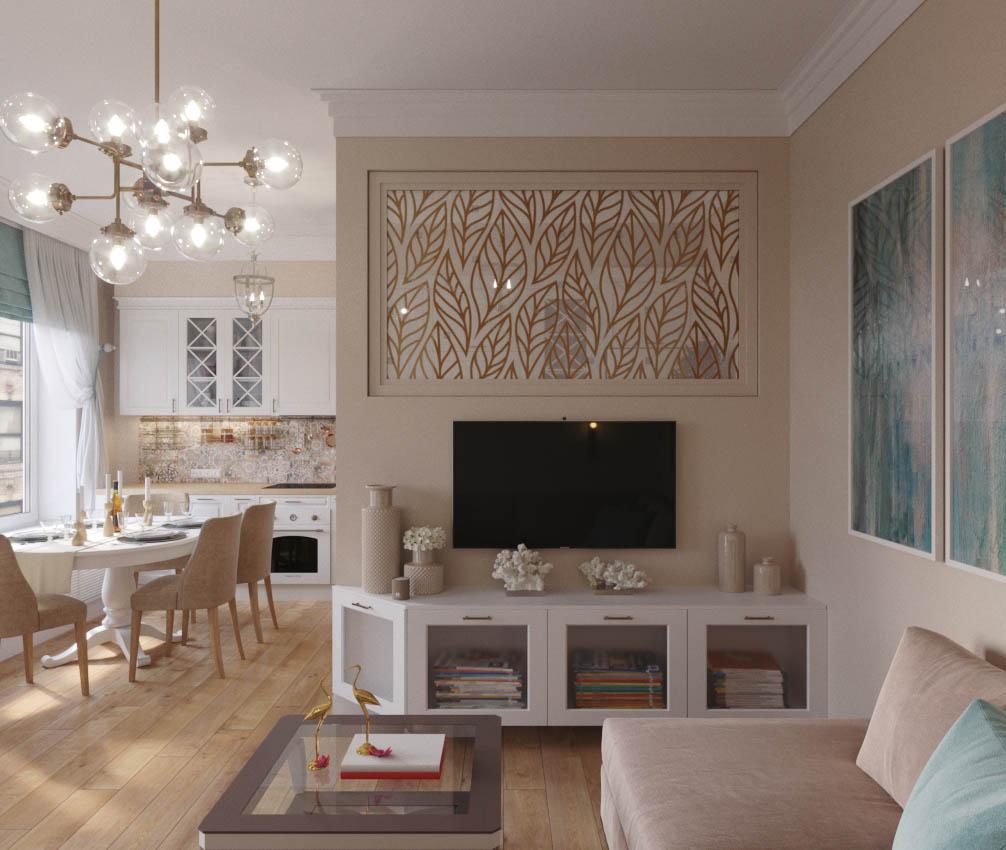 Дизайн-проект квартиры в ЖК «The Residence»