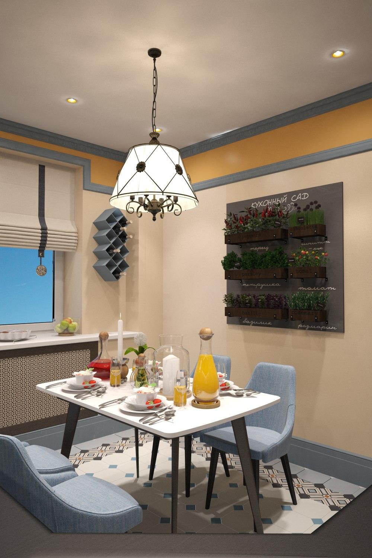 Дизайн-проект квартиры на пр. Королева