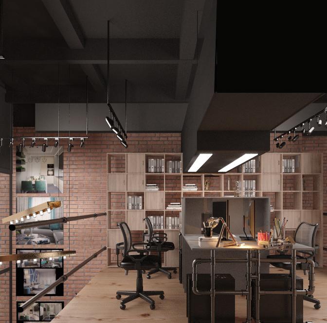 Дизайн проект офиса Люксорта