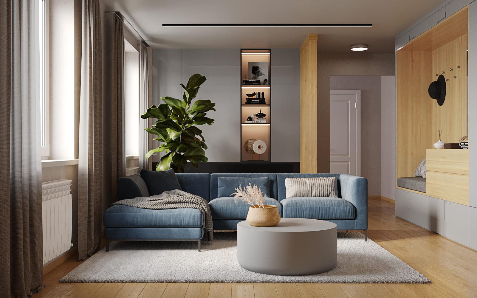Дизайн квартиры для семьи с ребенком