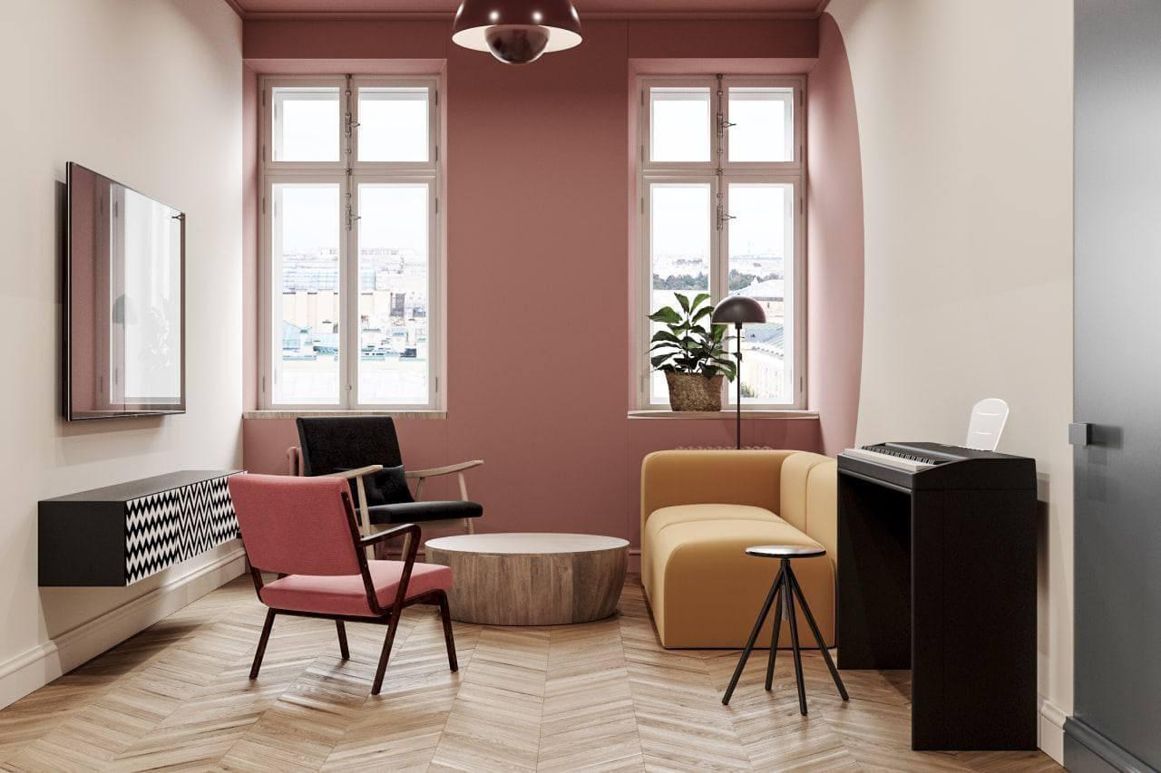Дизайн квартиры в старом фонде